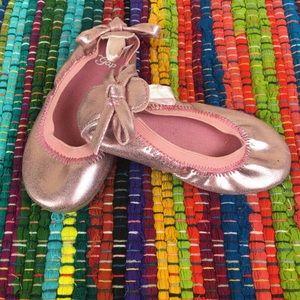 girls • ballet flats • sweetheart pink